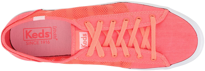3b910cb48aa Keds Women s Kickstart Striped Mesh Sneakers Orange  Amazon.ca  Shoes    Handbags