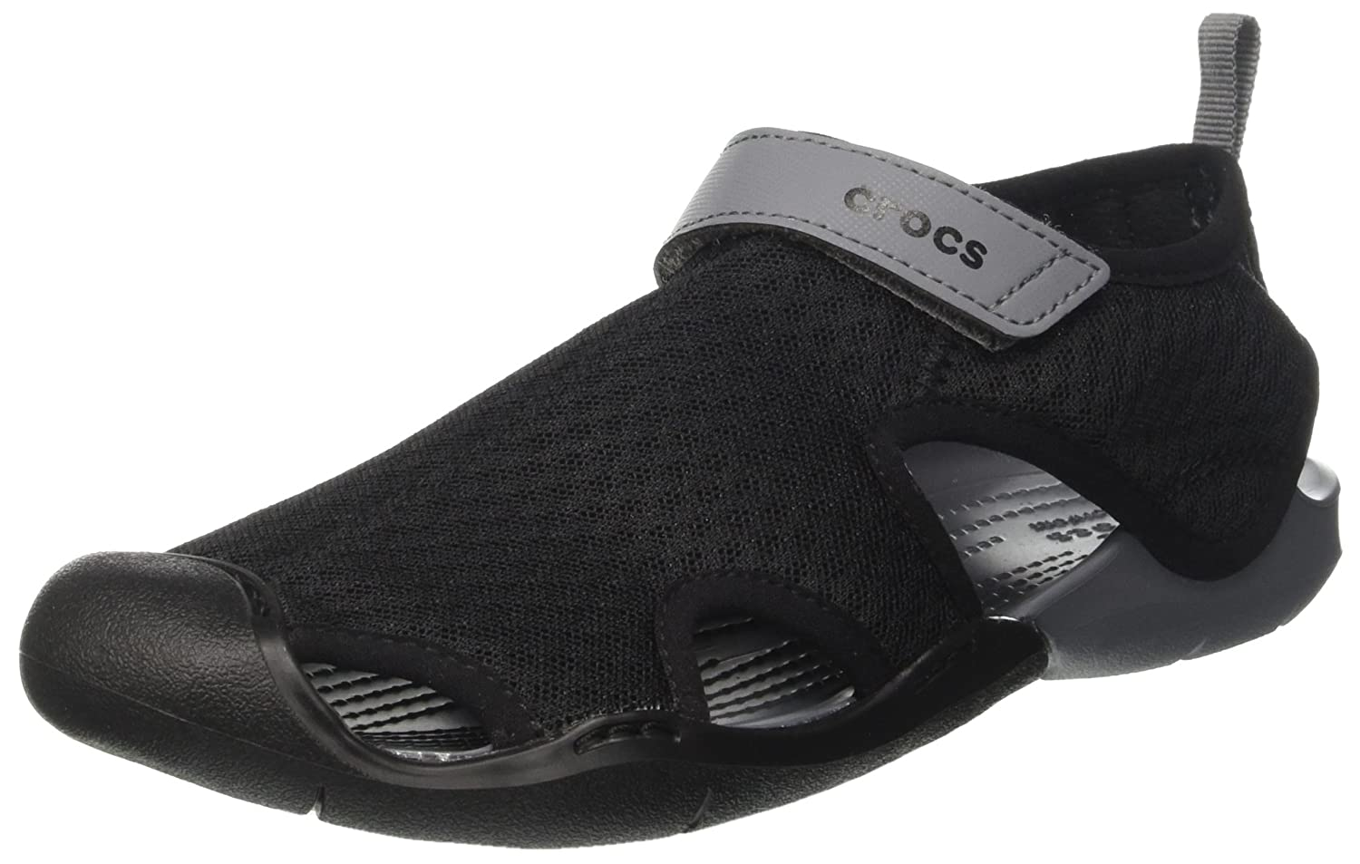 Crocs Women's Swiftwater Mesh Sandal B01H736524 10 B(M) US|Black