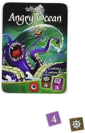 Wydawnictwo Portal POP00359 - Juego de Mesa de Angry Oceans Expansion, con diseño de Batalla: Amazon.es: Juguetes y juegos