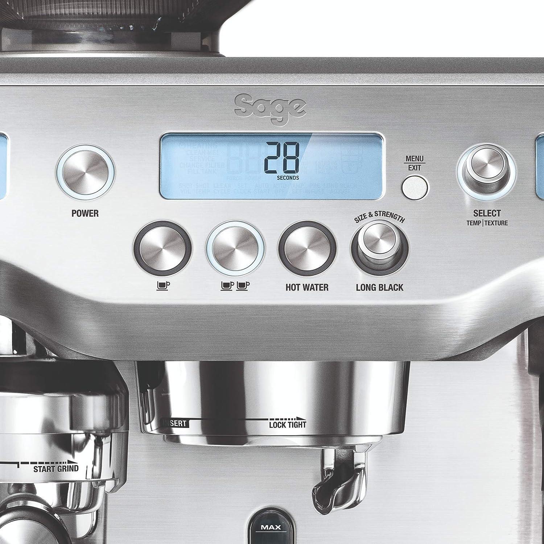 Sage Appliances – Máquina de café espresso, acero inoxidable ...