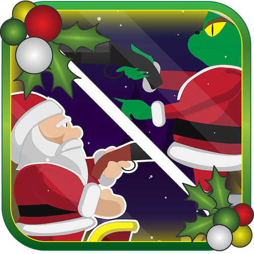 Santa Claus Christmas Mission - Reindeer Race Jingle Bell War! (Sexy Grinch)