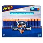 Refil Nerf Elite 12 Dardos Hasbro Azul/Laranja