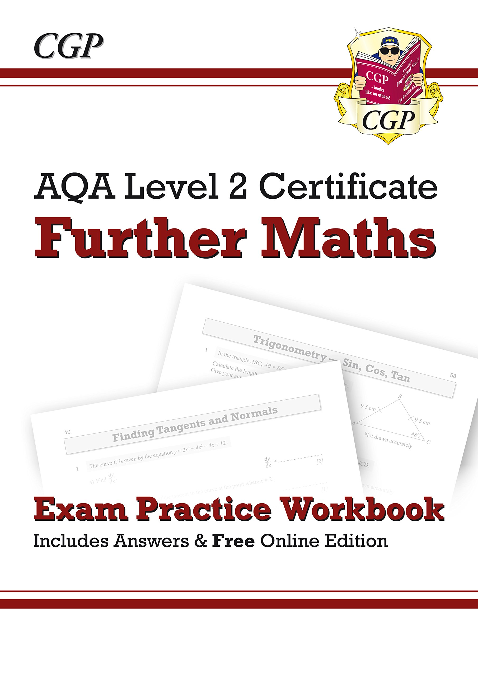 Aqa certificate in further mathematics amazon val hanrahan aqa level 2 certificate in further maths exam practice workbook with ans online 1betcityfo Images