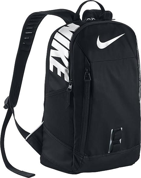 super popular 047bd adb45 Nike YA NIKE ALPHA ADAPT RISE SOLID boys childrens-school-backpacks  BA5344-010 - BLACK BLACK WHITE  Amazon.ca  Luggage   Bags