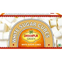 Dhampure Speciality Sulphurless Sugar Cubes, 500g (Green and White)