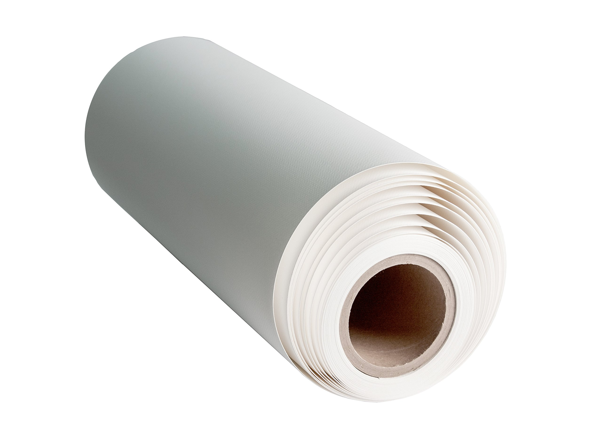 800M Matte Poly-Cotton Inkjet Canvas 21 mil and bright white. This 17''x40' roll is Exceptional For Digital Art and Photo Printing, Signage, Backdrops, Murals, etc. on Most Canon, HP and Epson Printers by Breathing Color