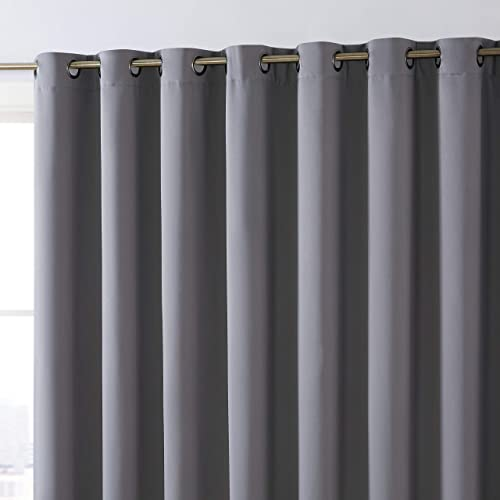 Reviewed: HLC.ME Dakota 100 Complete Full Blackout Thermal Insulated Window Curtain Grommet Panel