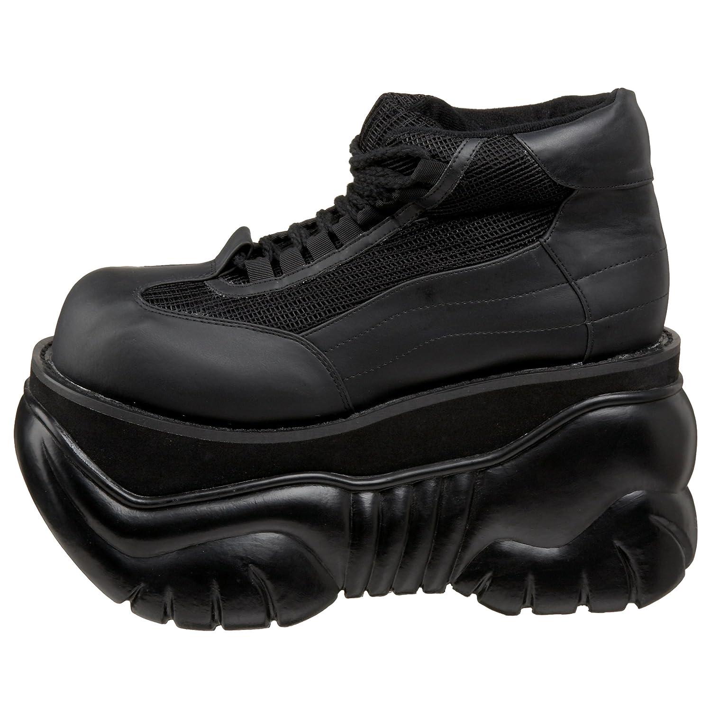 Demonia Boxer-01 - Gothic Punk Industrial Industrial Industrial Plateau Schuhe 37-45 US-Herren EU-45 (US-M12) 7a6e0d