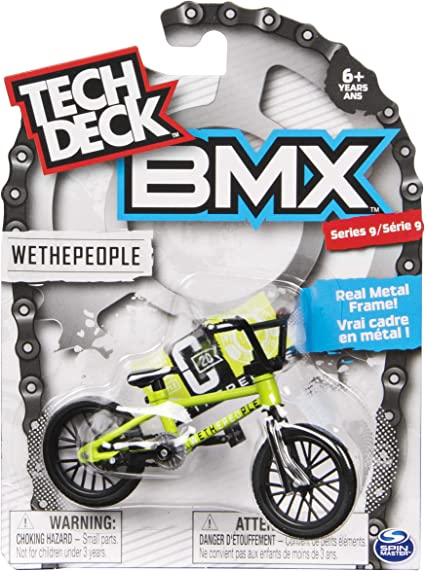 Amazon.com: Tech Deck BMX Serie 9 WETHEPEOPLE - 20103168 ...