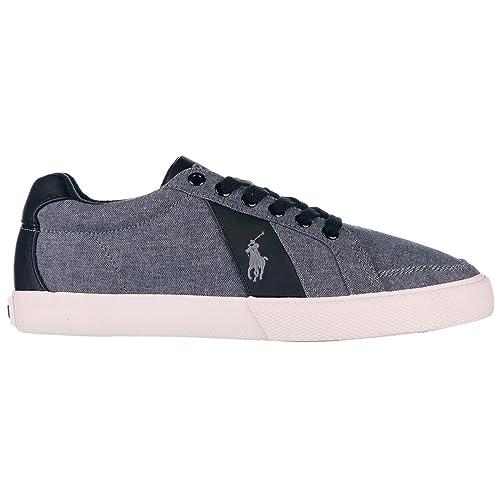Polo Ralph Lauren Zapatos Zapatillas de Deporte Hombres en Algodón Nuevo hugh Gris EU 45 A85 Y0470 C0210A0030: Amazon.es: Zapatos y complementos