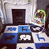 SoftTiles Kids Foam Playmat - Designer Safari