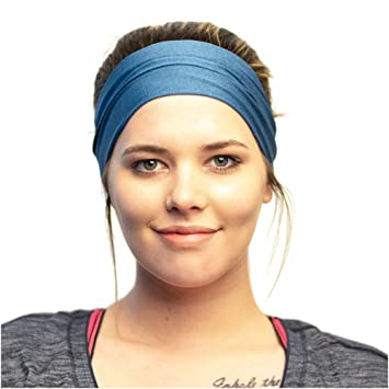 exzellente Qualität Mode viele Stile Red Dust Active Sport-Stirnband - Feuchtigkeitsableitend & Atmungsaktiv –  Das ideale Schweißband zum Joggen, Radfahren, Yoga und mehr – für Damen und  ...