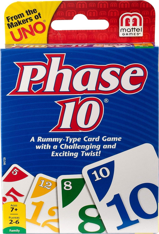 Mattel Phase 10: Amazon.es: Juguetes y juegos