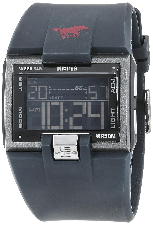 Mustang Unisex-Armbanduhr Analog Quarz Edelstahl 106974604402