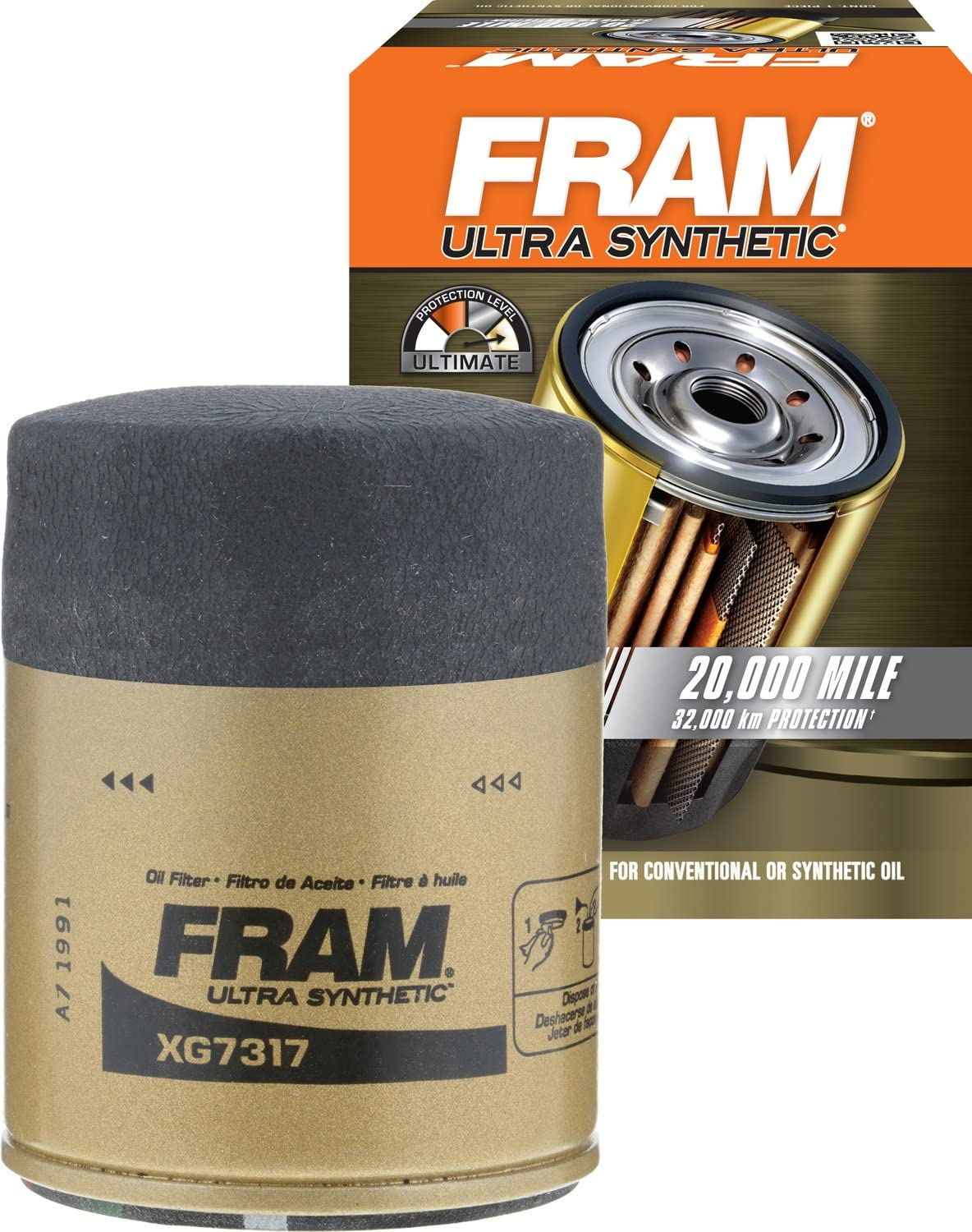 FRAM Oil Filter (with a grip)