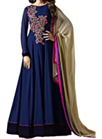 Ethnic Yard Women's Georgette Dress Material