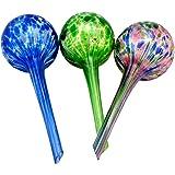 Aqua Globe Mini - 3 Pack - Decorative Hand-blown Glass Small Plant Watering Bulbs