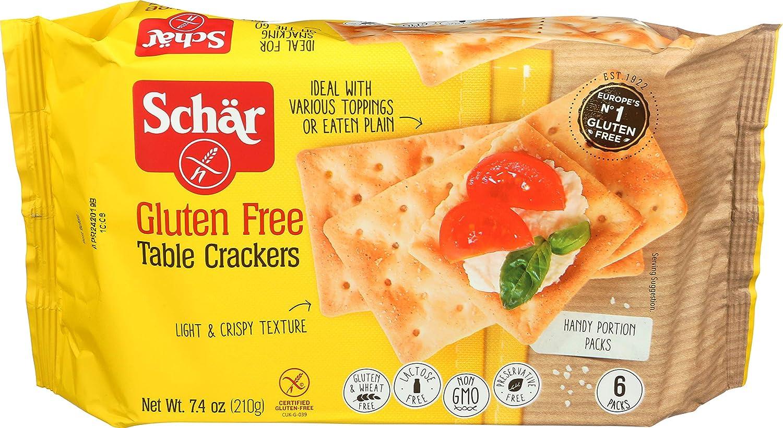 Schär Gluten Free Table Crackers, 7.4 oz., 6-Pack