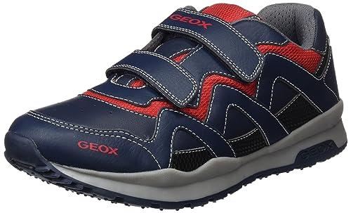 GEOX PAVEL Sneakers basse navyred Bambini Scarpe,geox