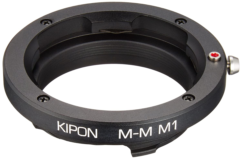 KIPON ライカMマウントアダプター ライブビュー対応 マクロ/M-M接写リング M1(8.1mm) M-M M1   B00CRGO9H0