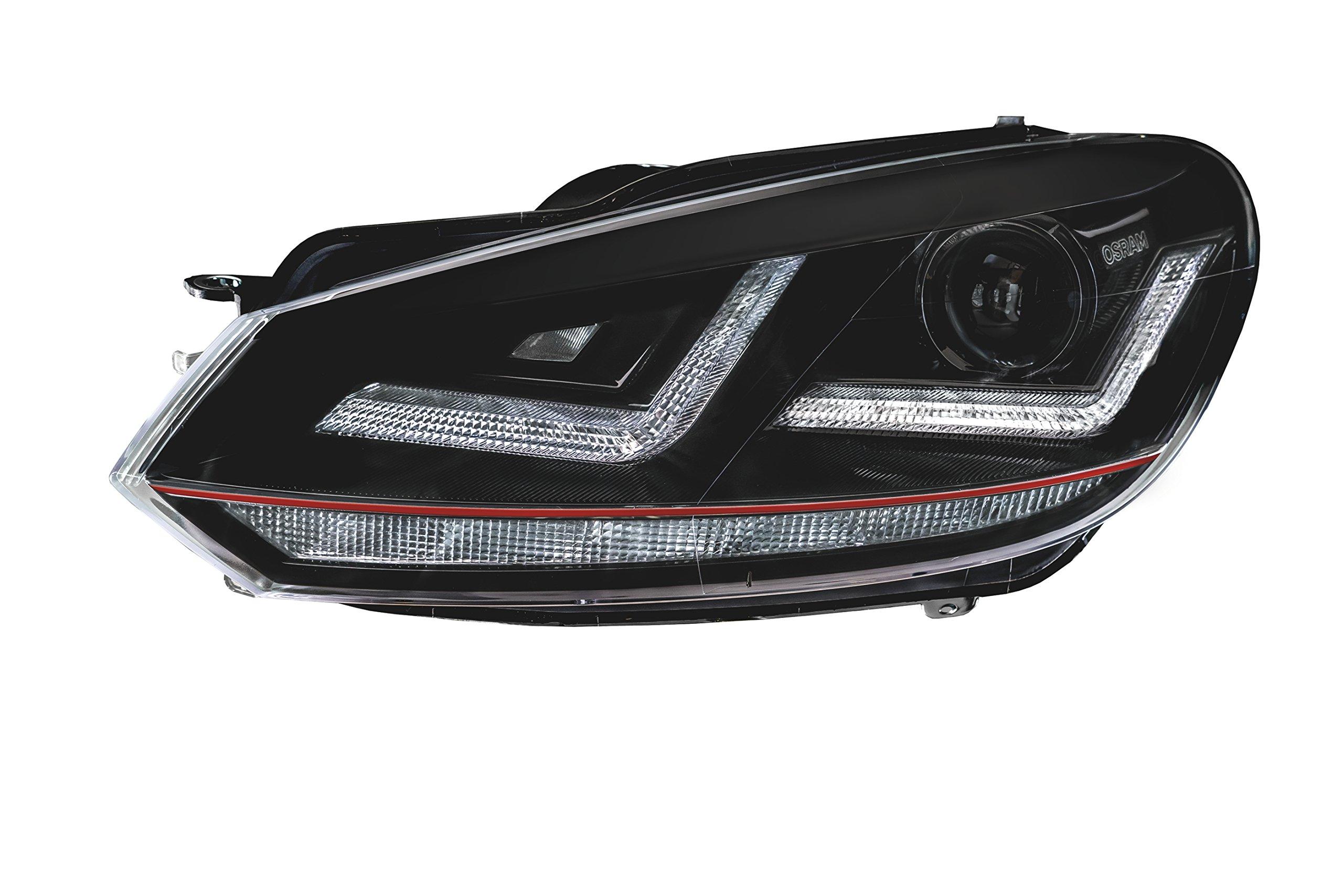 OSRAM LEDriving XENARC Golf VI GTI, LED, EURO Headlight, LEDHL102-GTI, 12V, 1 Set, LHD, Set of 2