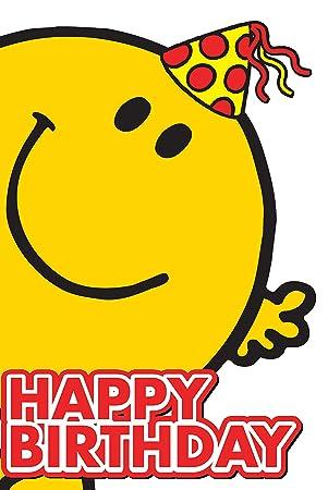 Mr men happy birthday card mr happy amazon toys games mr men happy birthday card mr happy bookmarktalkfo Image collections