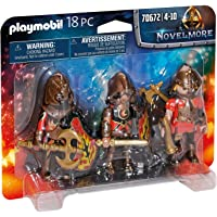 Playmobil Novelmore 70672 Burham Raiders Set with 3 Figures, for Ages 4+