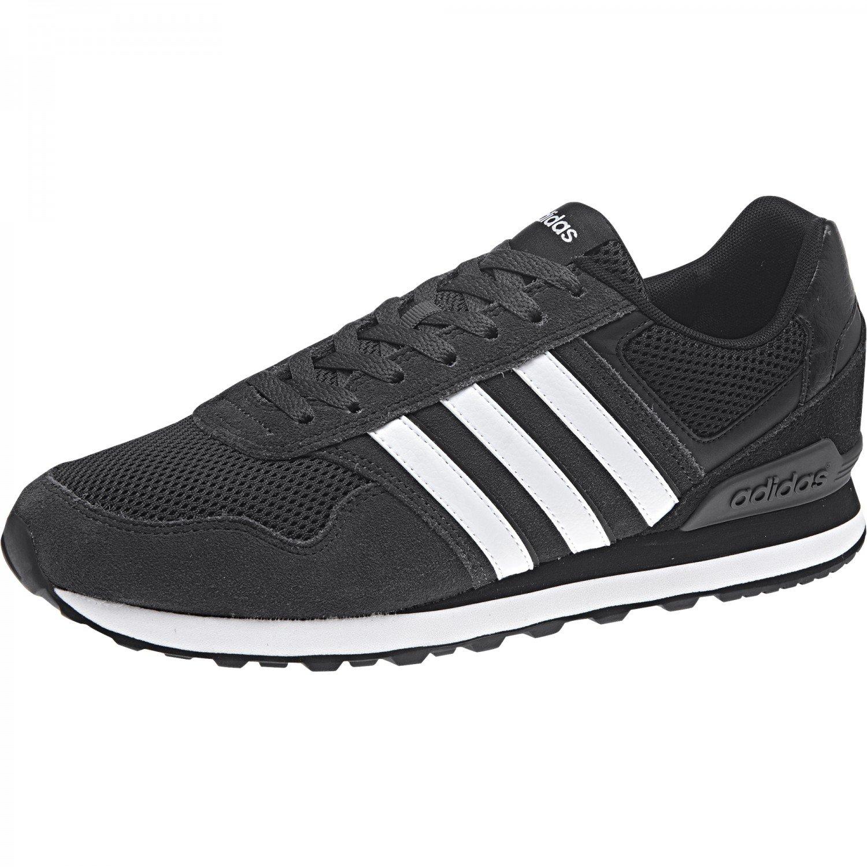Adidas 10K, Zapatillas de Gimnasia para Hombre, Negro (Core Black/FTWR White), 48 EU