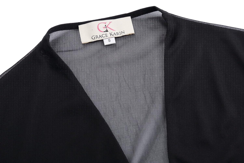 f52fcab67e21b GRACE KARIN Lightweight Shrug Bolero for Women CL010473 at Amazon Women s  Clothing store