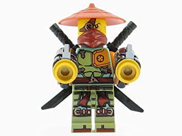 LEGO® Ninjago: Ronin Ninja Minifigure Ghost Shadow: Amazon ...