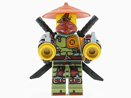 Amazon.com: LEGO Ninjago Ronin Ninja Minifigure Ghost Shadow: Toys ...
