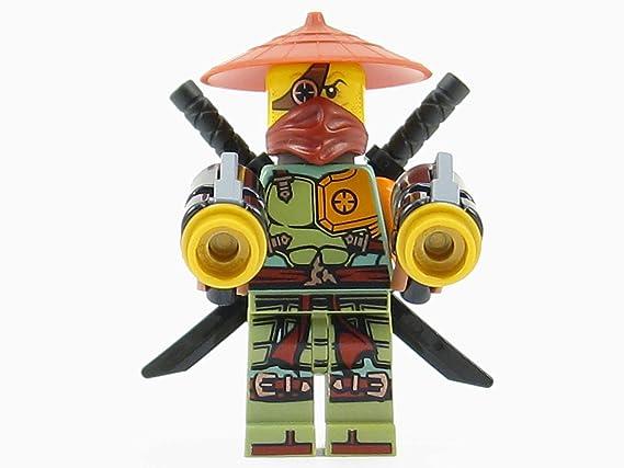 LEGO® Ninjago: Ronin Ninja Minifigure Ghost Shadow: Amazon ...