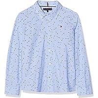 Tommy Hilfiger Arrow Allover Shirt L/S Camisa Manga Larga para Niños
