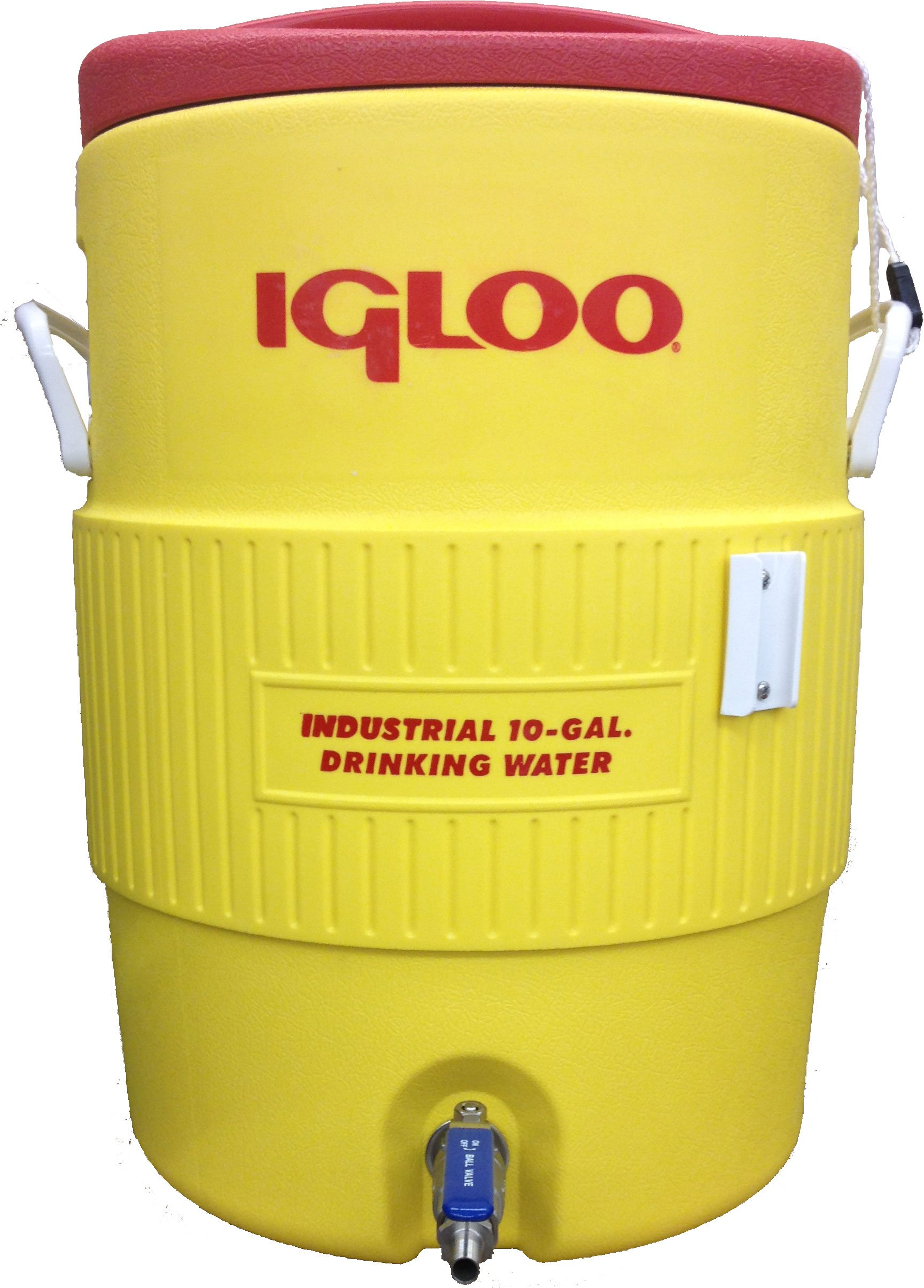 Quick Fit Hot Liquor Tank with Stainless Steel Ball Valve, 10 gallon