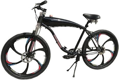 CDHpower Bicicleta motorizada a Gas de 26 Pulgadas Marco de Tanque ...