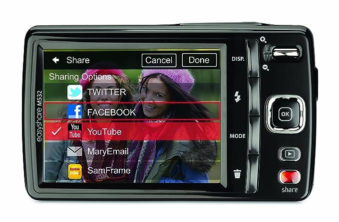 amazon com kodak easyshare m532 14 mp digital camera with 4x rh amazon com Kodak EasyShare Camera Manual kodak easyshare m531 manual