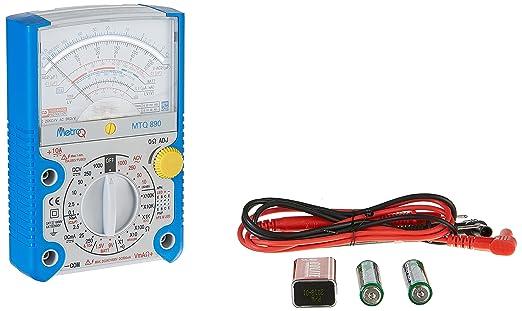 MetroQ MTQ-890 KPH BPT609 Analog Multimeter