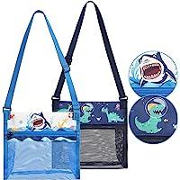 Bolsas de Playa Concha - 2 Paquetes Almacenamiento de Juguetes de Arena de Playa de Malla para Niños Chico Verano…
