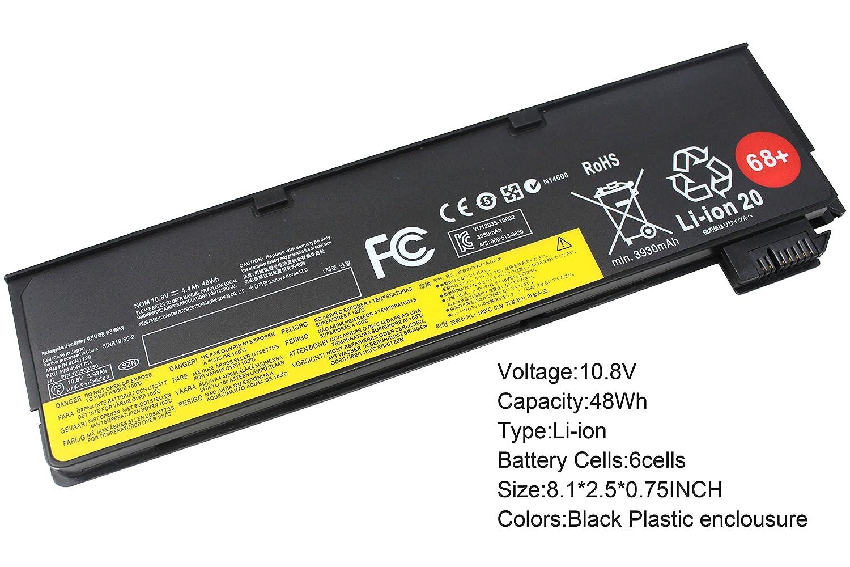 Gomarty 10 8V 48WH New 68+( 0c52862 ) Laptop Battery for Lenovo ThinkPad  X240 X240s X250 X260 T440 T440s T450 T450s T460 T460P T560 L450 L460 W550s