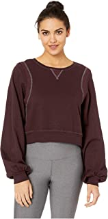 product image for Hard Tail Women's Reverse Angle Stripe Pullover
