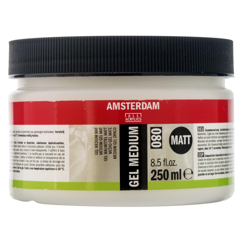 Amsterdam Acrylics Gel Medium 250ml Jar Royal Talens T2417-3080