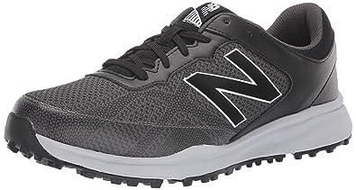 5e15dc96a9bbb New Balance Men's Breeze Breathable Spikeless Comfort Golf Shoe,  Black/Grey, 7 D D