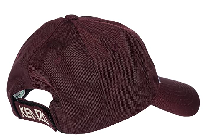 88d705d48b8 Kenzo adjustable men s cotton hat baseball cap bordeaux  Amazon.co.uk   Shoes   Bags