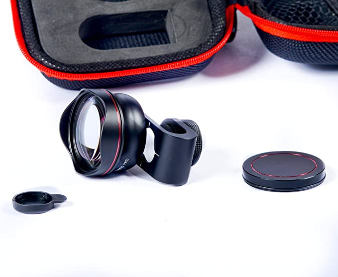 iboolo Objetivo Photo Zoom óptico X2 Universal para Smartphones ...