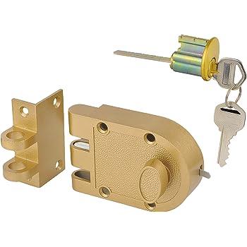 Sumbin Jimmy Proof Deadbolt Single Cylinder Rim Door
