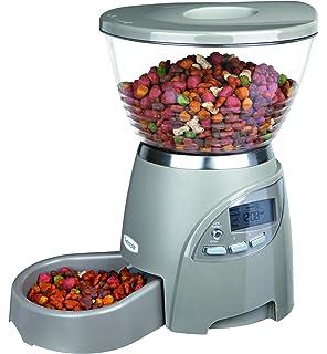 Trixie - Dispensador automático de comida modelo Le Bistro para mascotas