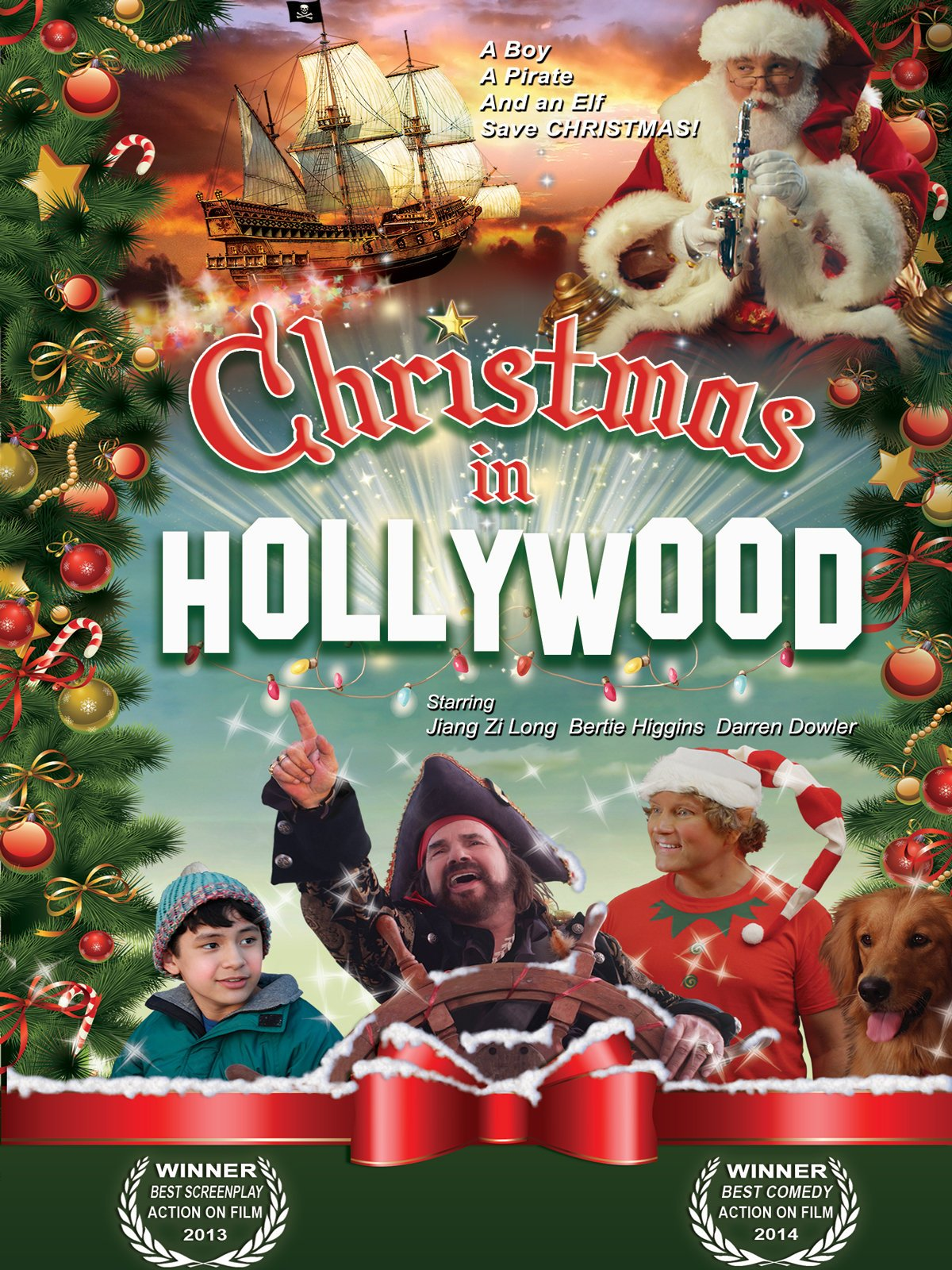Image result for christmas in hollywood