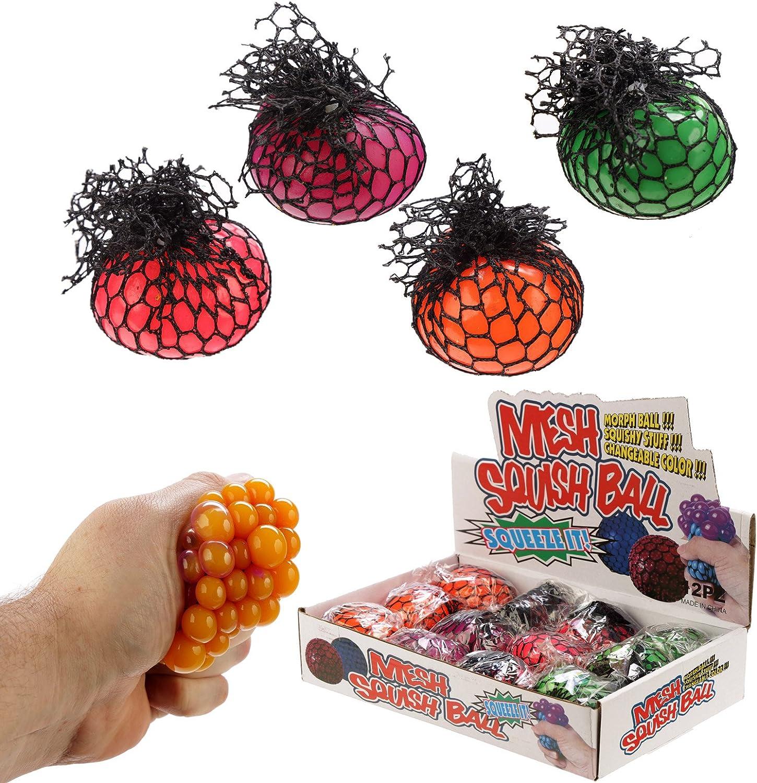 Fun Kids Squish bola de malla que cambia de color: Amazon.es: Bebé
