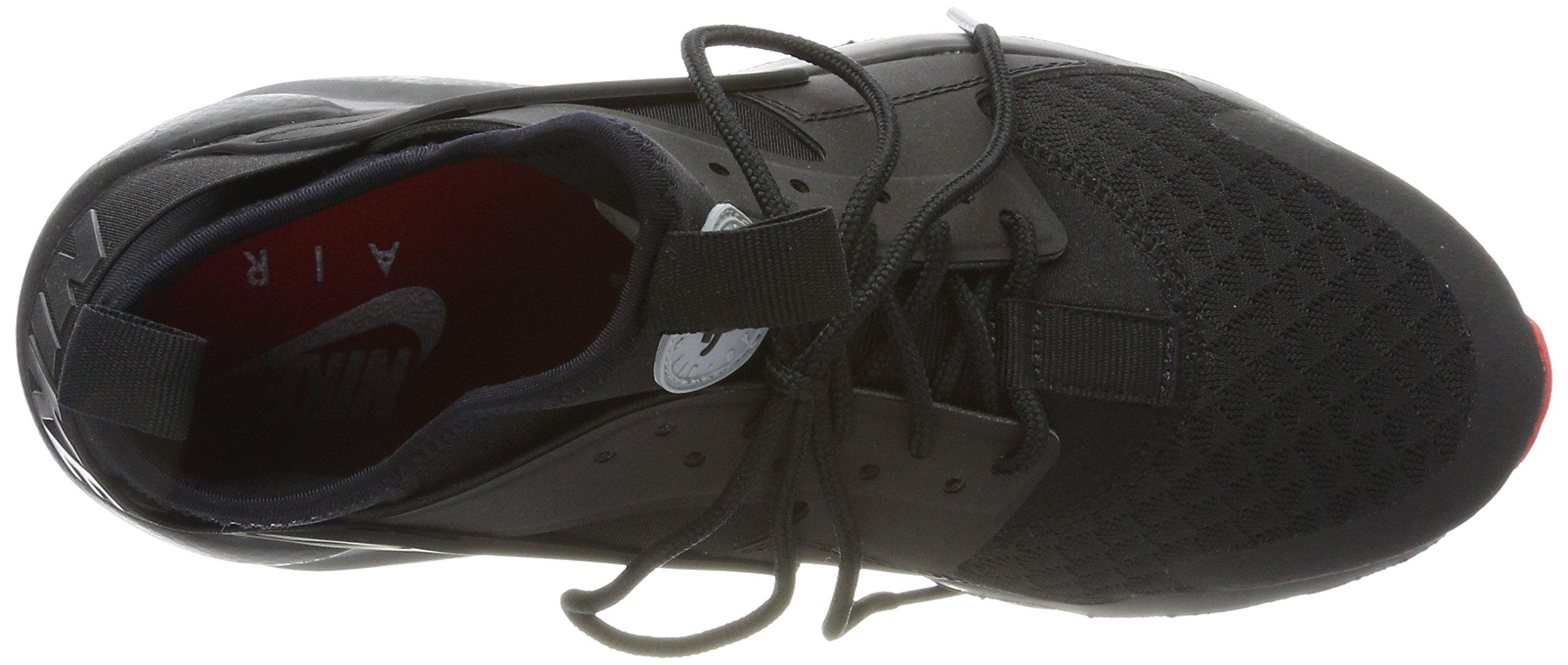 Nike Air Huarache Run Ultra Black/Metallic Silver (11 D(M) US) by NIKE (Image #7)