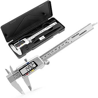 Messscheiber Meßschieber Schieblehre Caliper 0-150mm ±0,02mm Kohlenstoffstahl